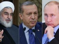 ائتلاف تاکتیکی روحانی، پوتین و اردوغان
