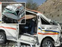 واژگونی آمبولانس شهرستان رودان ۳ کشته و ۲ زخمی بر جای گذاشت/پیام تسلیت رئیس دانشگاه