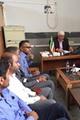 بازدید مدیرکل ثبت احوال از اداره ثبت احوال شهرستان بندر خمیر
