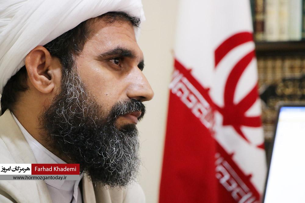 گزارش تصویری : نشست خبری مدیر حوزه علمیه استان هرمزگان