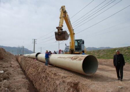 بهره برداری طرح انتقال آب به شبکه ۵۰۰هکتاری گلخانه شمیل