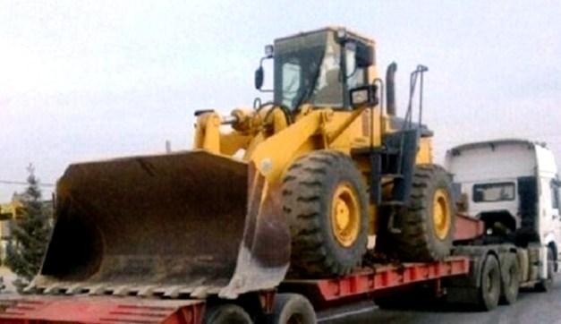 کشف لودر۹ میلیاردی قاچاق در شهرستان میناب