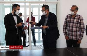 گزارش تصویری : بازدید رئیس دانشگاه هرمزگان از مرکز نوآوری تعاون استان هرمزگان
