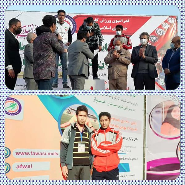 درخشش دوندگان هرمزگانی در مسابقات دوومیدانی کارگران کشور