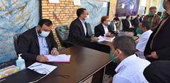 آزادی ۱۰۰ نفر از زندانیان با حضور رییس کل دادگستری و ۱۱۰ نفر از قضات و مسئولین قضایی استان هرمزگان در زندان بندرعباس