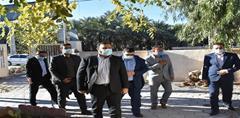 بازدید از پیش اعلام نشده رییس کل دادگستری هرمزگان از حوزههای قضایی شمال استان