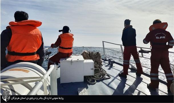 انجام بیش از ۱۰۰ عملیات جستجو و نجات دریایی و شرایط اضطرار