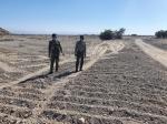 جلوگیری از تصرف ۵۷۱۴۷ مترمربع از اراضی ملی شهرستان میناب