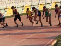 برگزاری مسابقه دو ومیدانی در پیست خلیج فارس