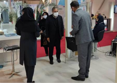 بازدید نماینده مردم بندرعباس از نمایشگاه بینالمللی گردشگری و صنایعدستی