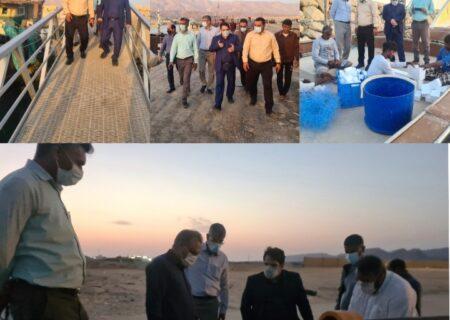 ارتقای ارائه خدمات به صیادان با واگذاری موج شکن های مردمی به شیلات