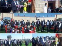 ورزشگاه شهید مراد قلندری و خانه ورزشی روستایی روتان سیریک افتتاح شد