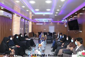 بازدید بانوان مدیرکل استان هرمزگان از شهرستان بندرخمیر